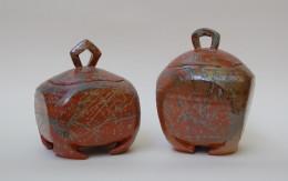 stoneware reduction fired gres cottura in riduzione sara kirschen